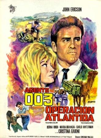09 agente 003 operación Atlantida