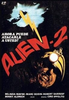 Alien 2 Sobre la Tierra POSTER