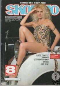 Sabrina Siani en una portada de la época.