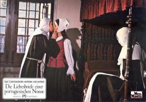 Fotocromo de la película que no hay que confundir con Cartas de amor de una monja de Jorge Grau (1978)