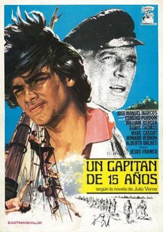 un capitán de 15 años-cartel