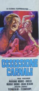 Cartel italiano de Las hijas de Drácula.