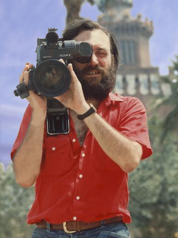 Josep en uno de sus rodajes con John Liu.