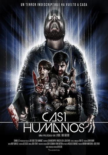 Casi Humanos A4 poster