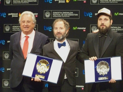 """Carlos Vermut, director """"Magical Girl"""", ganadora de Concha de Oro y Concha de Plata."""