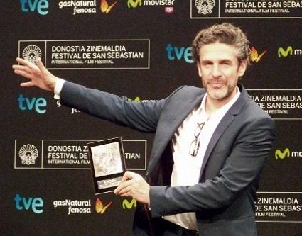 """Leonardo Sbaraglia, protagonista de """"Relatos salvajes"""", galardonada con el Premio a la mejor Pelicula Europea."""