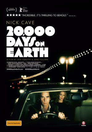 Dia 8 20000 Days On Earth poster