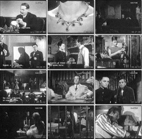 Fotogramas del film de Franco.