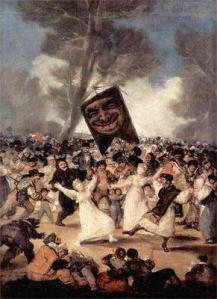 Los carnavales de Goya y Solana.