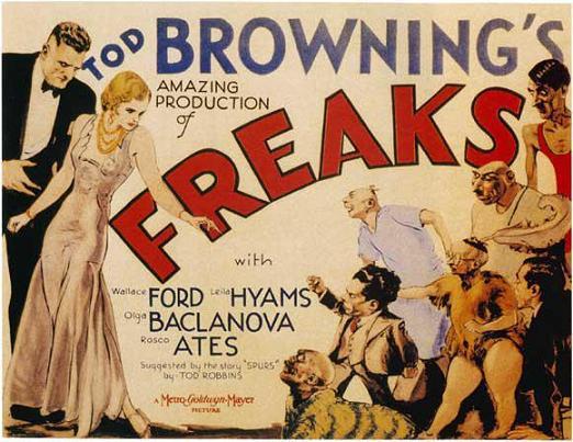 """Los """"freaks"""" de Browning."""