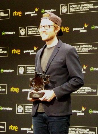 "08 Premio Kutxa Nuevos Directores para Rudi Rosenberg por ""Le Noveau"" fin"