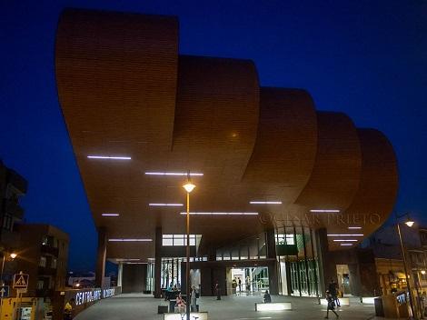Fachada del Centro de Arte de Alcobendas.