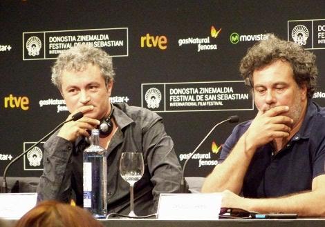"Jean Marie Larrieu y Arnaud Larrieu, directores de ""21 Nuits avec Pattie""."