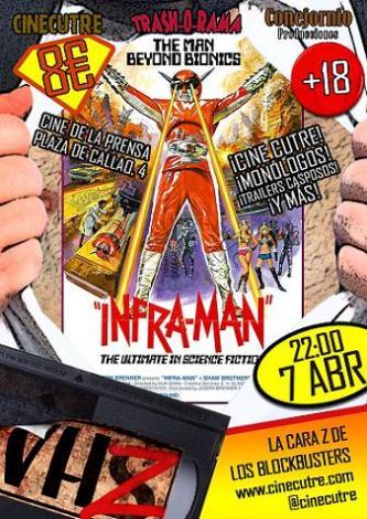 VHZ Superheroes Inframan
