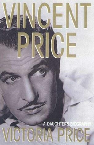 Portada de la biografía de Vincet Price escrita por Victoria.
