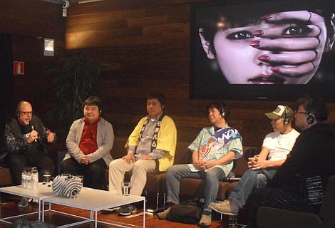 Mesa redonda con directores japoneses en el Museo San Telmo.