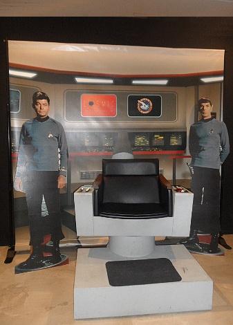 """La Semana también celebró el cincuenta aniversario de """"Star Trek"""" con una exposición conmemorativa."""