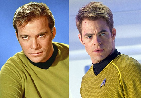 william-shatner-v-chris-pine-as-captian-kirk