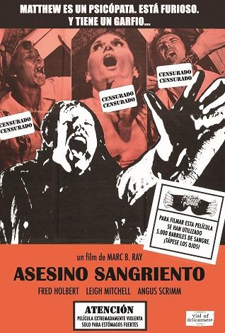 ASESINO SANGRIENTO FRONTAL