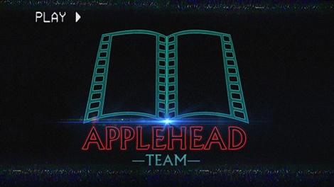 APPLEHEAD 2017-2018 LOGO VHS miniatura