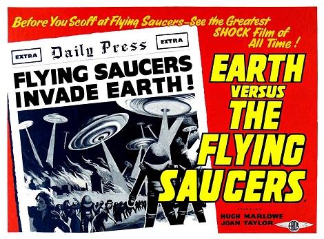 21. La Tierra contra los platillos volantes