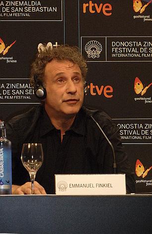 Dia 2 La Doleur Director Emmanuel Finkiel en rueda de prensa