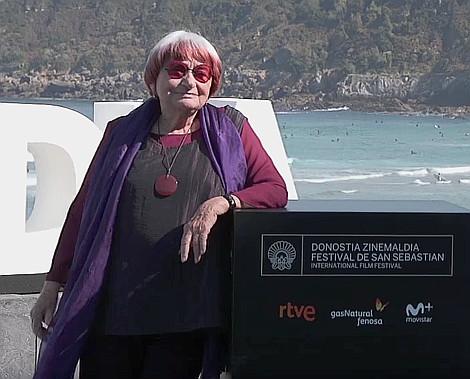 dia 2 Visages villages faces places directora Agnes Varda en el Photocall