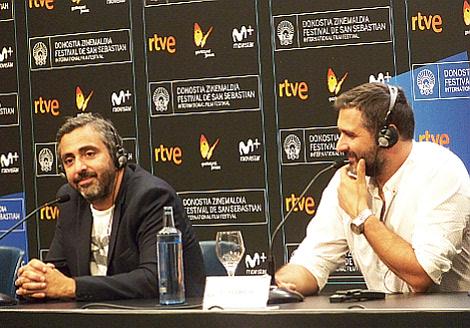 Dia 3 Le Sens de la fete directores Eric Toledano y Olivier Nakache en rueda de prensa