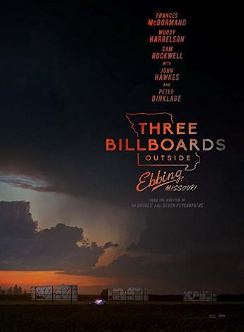 Dia 6 Three Billboards Outside Ebbing poster del film
