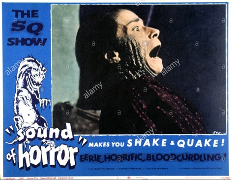 THE SOUND OF HORROR, Lola Gaos, 1966