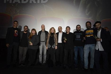 Jurados & Premiados & Sergio Molina & José Luis Almemán & Don Mancini 2
