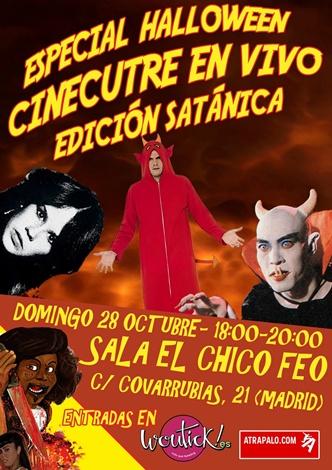 Poster Halloween CC en Vivo