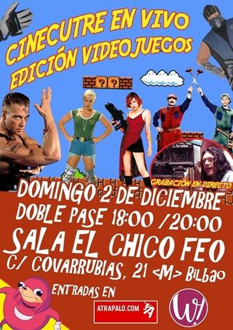 Cartel CC en Vivo Videojuegos