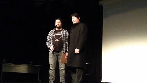 Carlos Palencia y Robert Bronzi