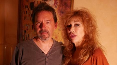 Luis con Victoria Vera
