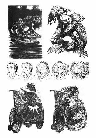 Dibujos Bernie Wrightson proyecto de Lovecraft-1
