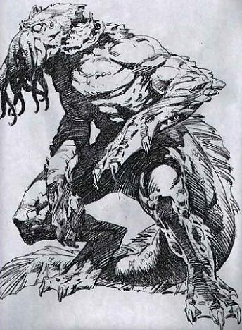 Dibujos Bernie Wrightson proyecto de Lovecraft-2