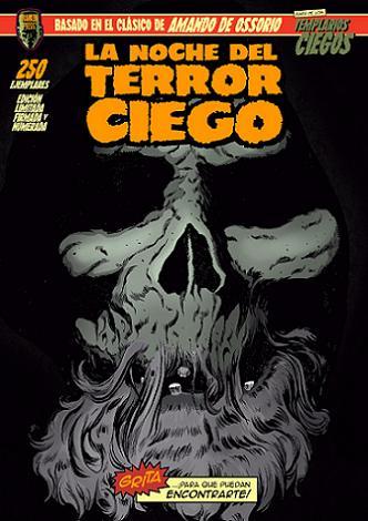 La noche del terror ciego-portada comic