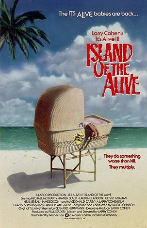 La isla de los vivos-poster