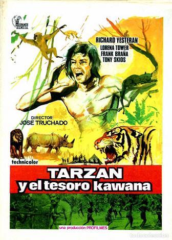 Tarzan y el tesoro Kawana-poster