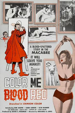 Color Me Blood Red-Poster 1