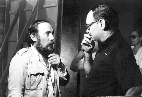 Aldo Lado con Ennio Morricone