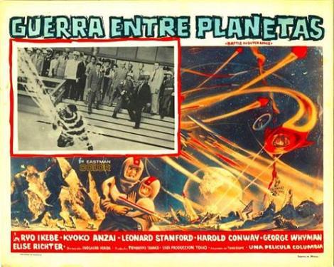 Batalla en el espacio-3