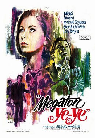 Megaton Ye-ye-poster