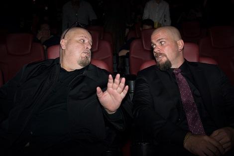A_Alex Proyas y Alejandro Ibañez durante la gala de inauguración