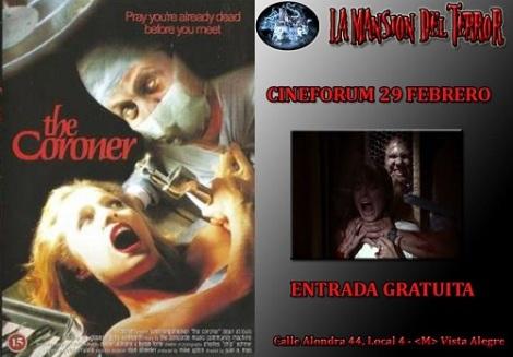 Cineforum- The Coroner