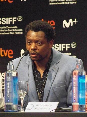 foto 24 Z 2019 dia 5. Bukassa Kabengele actor de Pacificado y Concha de Plata de este año