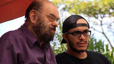 José Mojica Marins y Joel Caetano