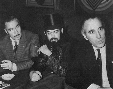 Jose Mojica Marins & Christopher Lee