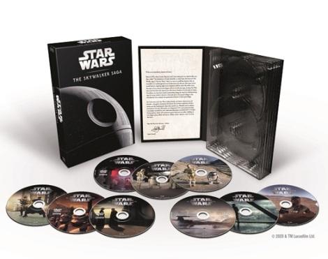 Star Wars El ascenso de Skywalker DVDs